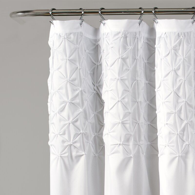 Elzira Single Shower Curtain Lush Decor Cool Shower Curtains