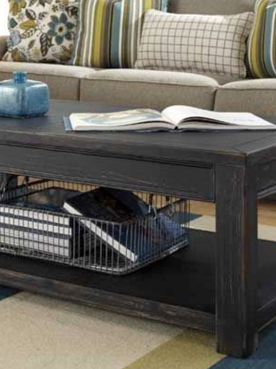 Gavelston Cocktail Table Spaces Living Rooms And Storage - Ashley gavelston coffee table