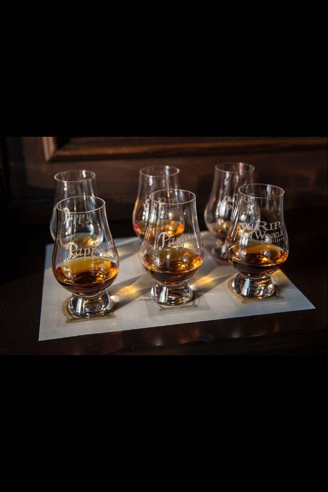 Lex Bourbon Society VW tasting