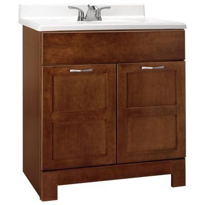 laundry room bathroom? American Classics - 30 Inch Cognac Casual ...