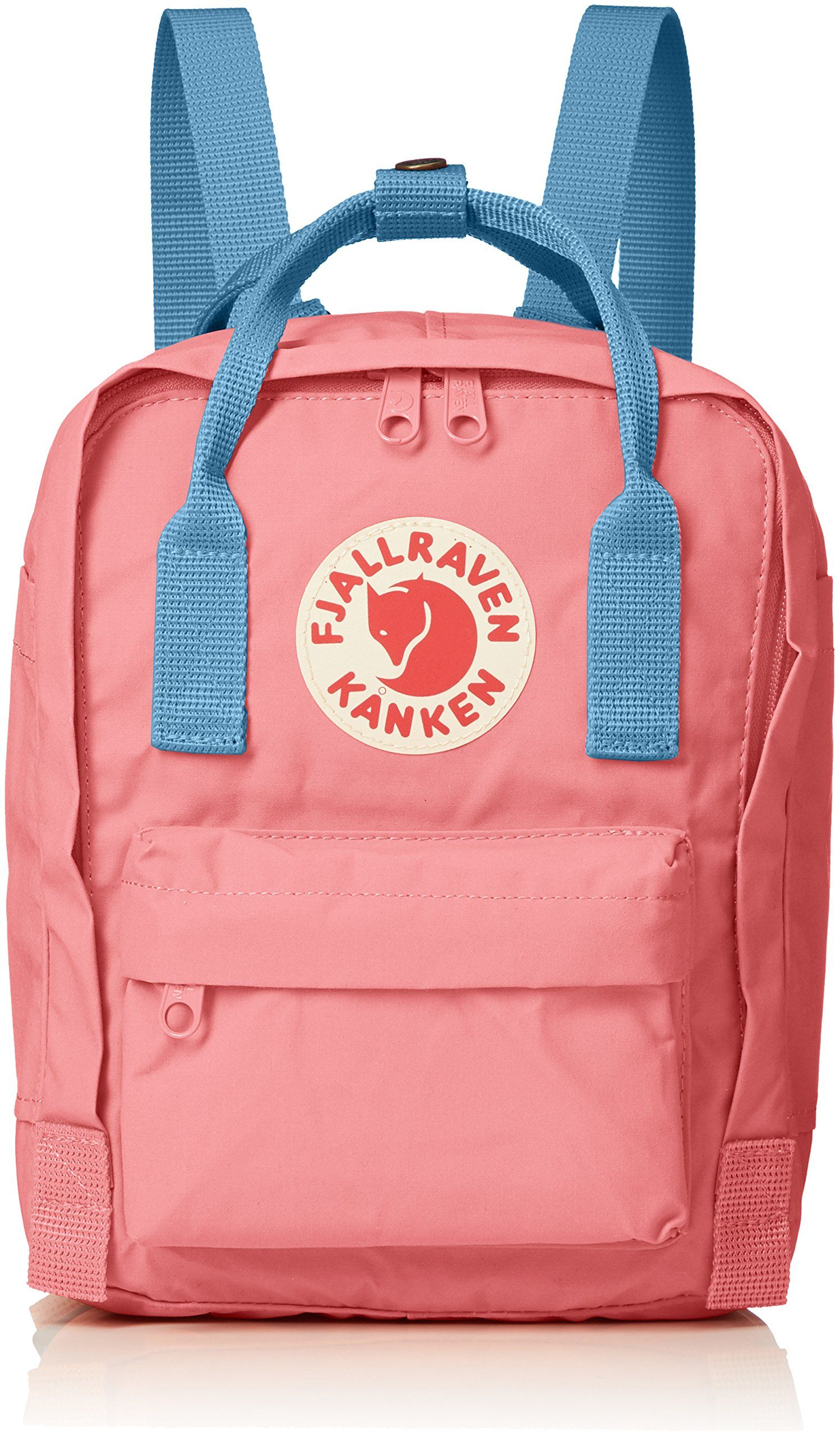 49f6d2916 Amazon.com | Fjallraven - Kanken-Mini Classic Pack, Heritage and  Responsibility Since 1960, Pink-Air Blue | Casual Daypacks | @giftryapp