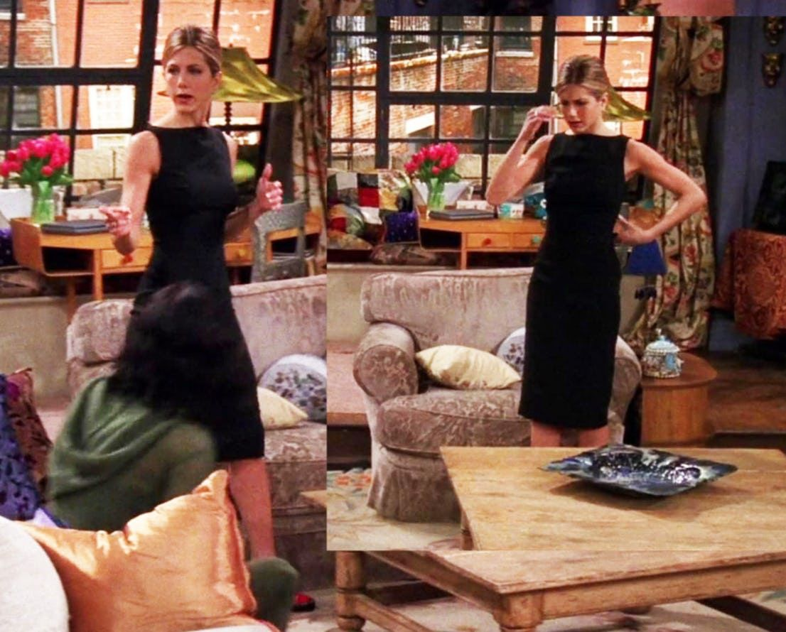 24 Rachel Green Outfits We Wish Jennifer Aniston Would Bring Back Rachel Green Outfits Rachel Green Style Friend Outfits [ 890 x 1106 Pixel ]