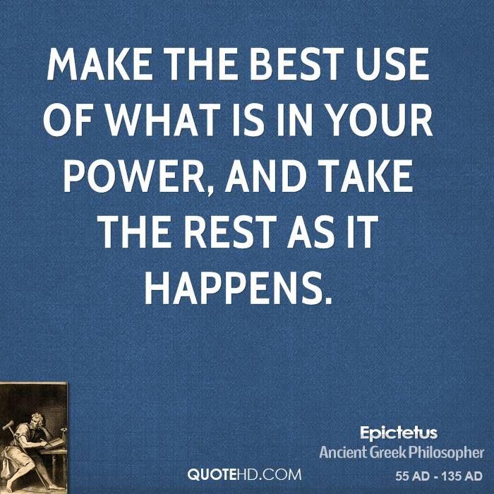 More Epictetus Quotes on Epictetus