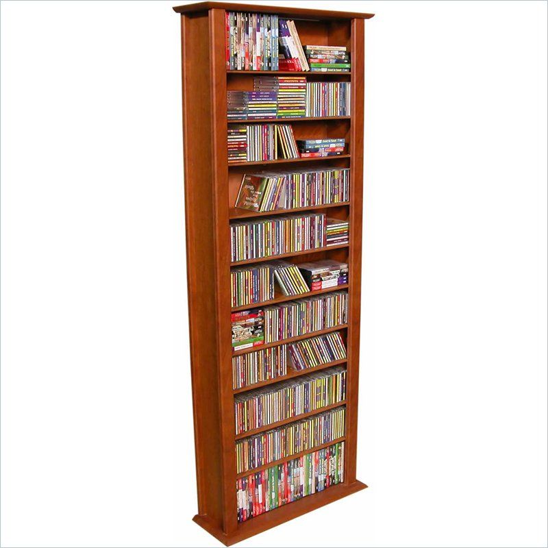 Perfect Lowest Price Online On All Venture Horizon Tall CD DVD Wall Media Storage  Rack   2411