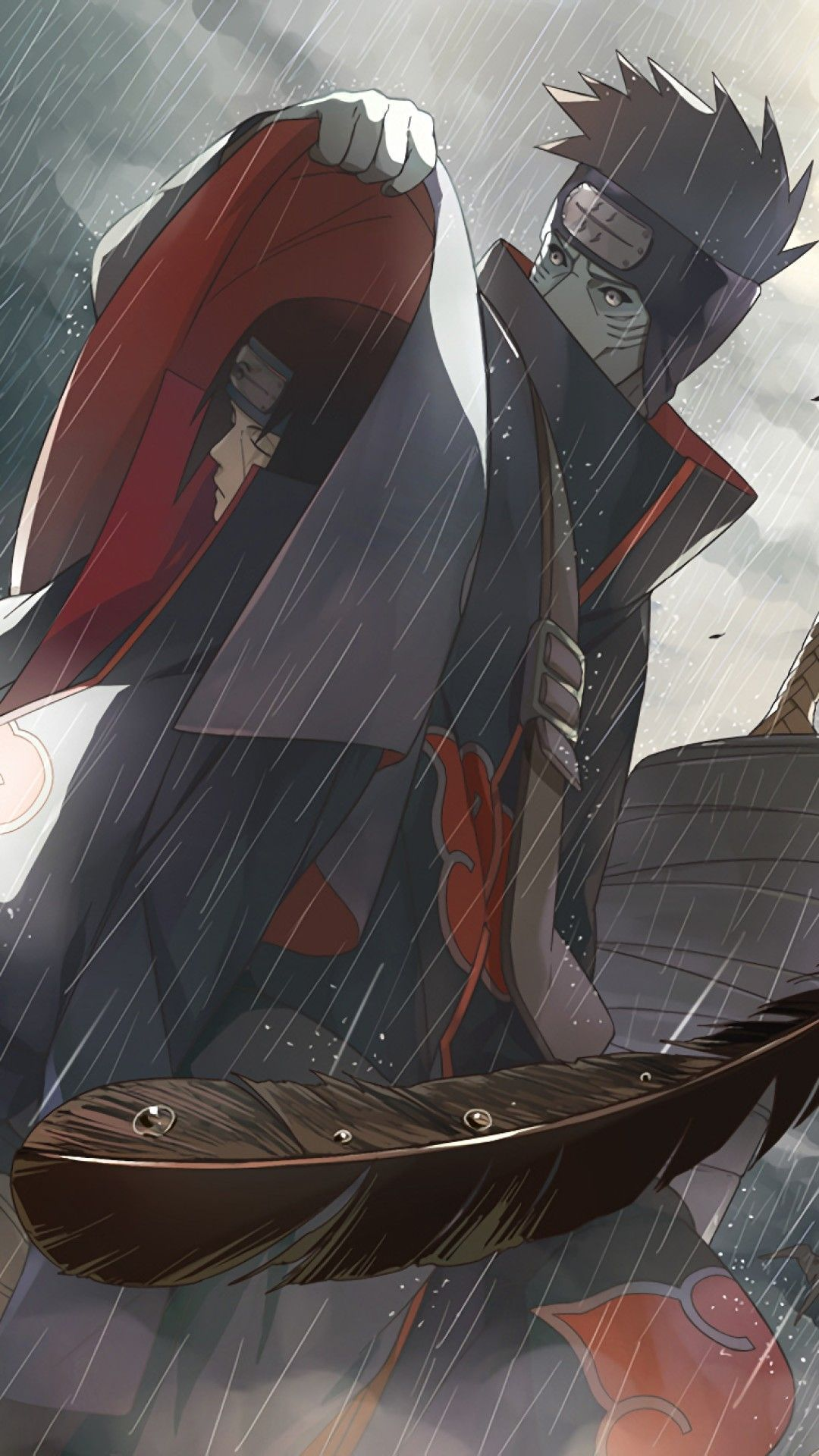 Wallpaper Phone Itachi And Kisame Full HD 4K (With