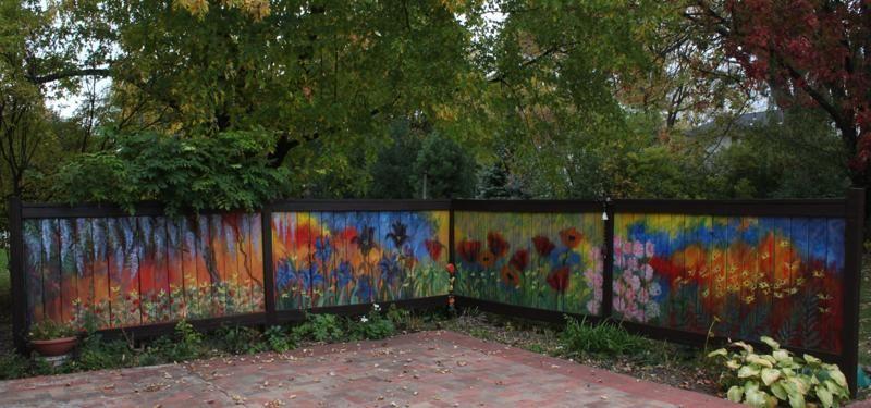 Jardin decocasa cercas y vallas dise o estilo y color for Decoracion de parques y jardines