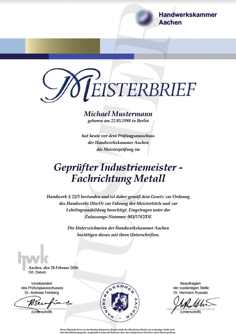 ✰ KFZ-ELEKTRIKER MEISTERBRIEF WUNSCHBERUF DEUTSCHE DIPLOM UNI ...