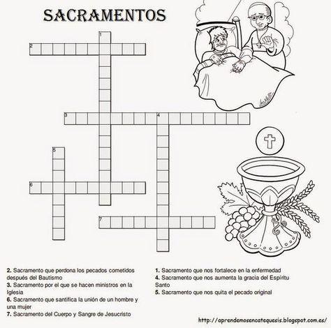 La Catequesis: Recursos Catequesis Los Sacramentos | didáctica ...