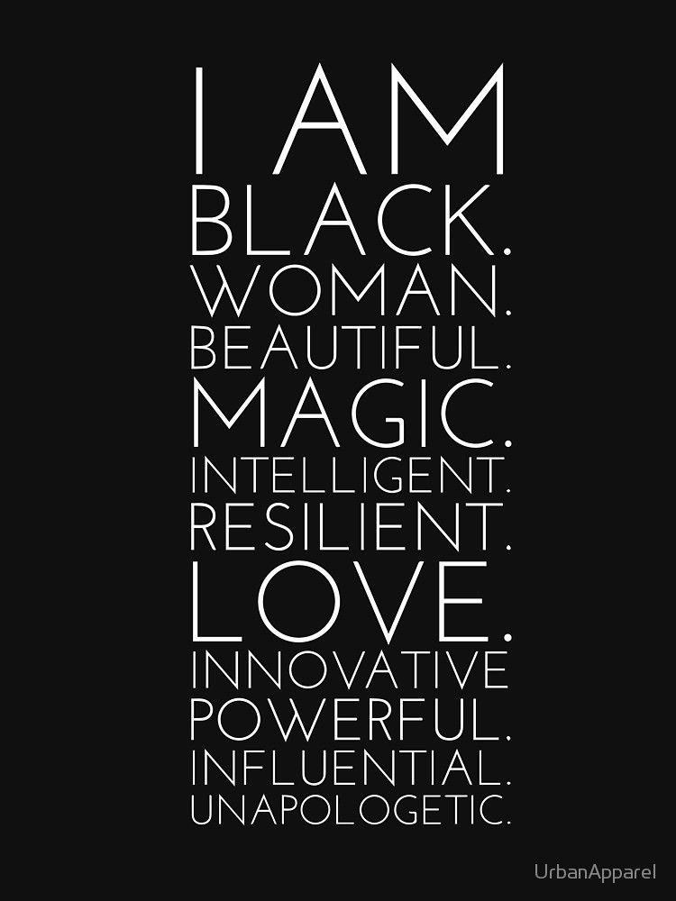 Black History Strong Black Woman \' T-Shirt by UrbanApparel ...
