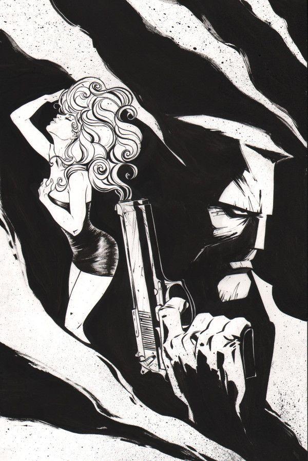 Sin City (Frank Miller) commission. Art by Joelle Jones
