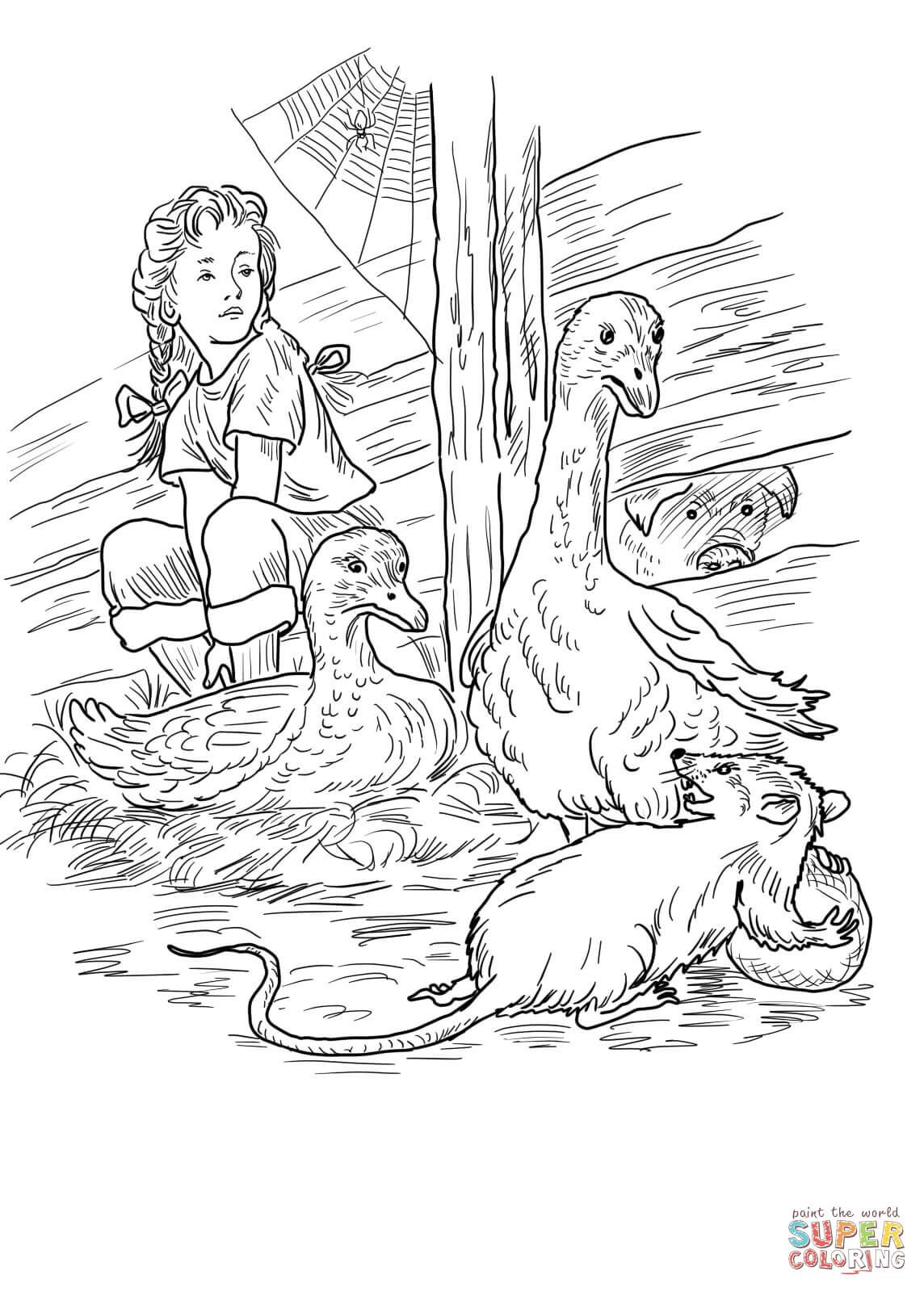 charlotte-fern-gooses-templeton-and-wilbur-coloring-page.jpg (1144 ...