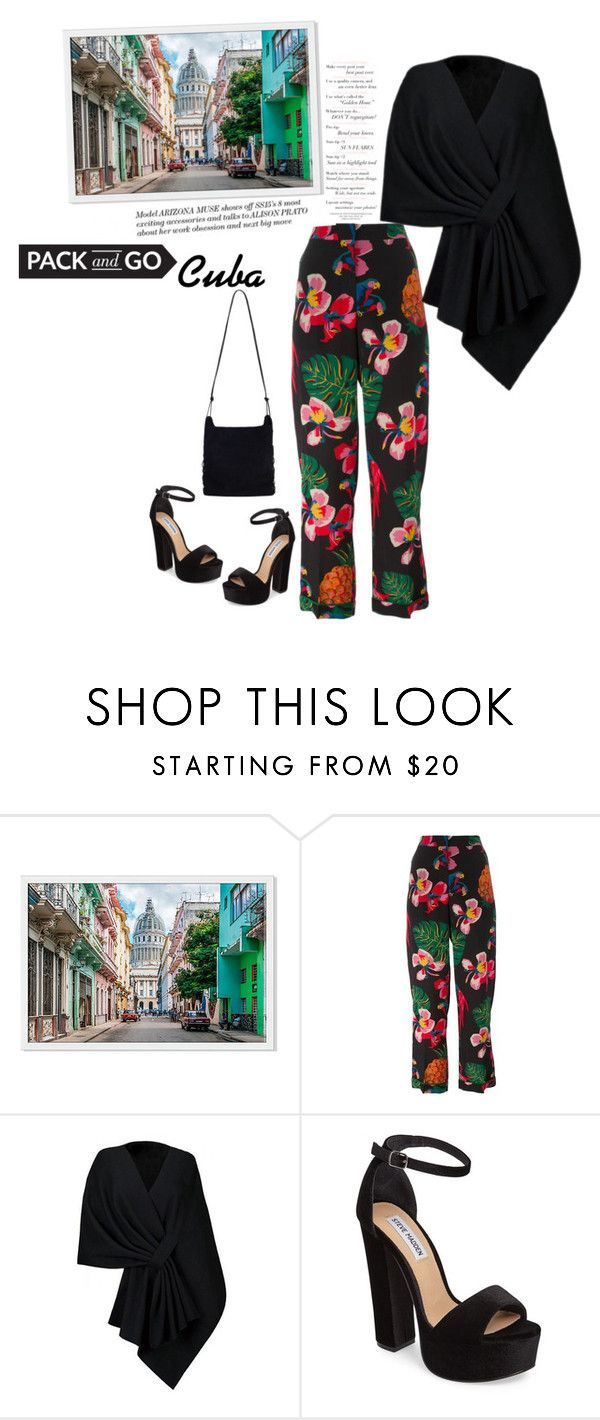 """""""#packandgo > Cuba"""" by cultuerd-stylish ❤ liked on Polyvore featuring Valentino, Steve Madden, Zimmermann and Packandgo"""