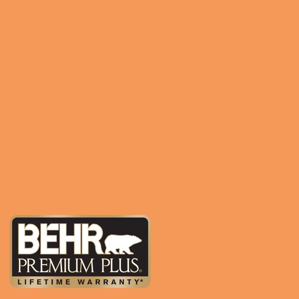 260b 6 Blaze Orange Flat Zero Voc Interior Exterior Paint And Primer In One Sample