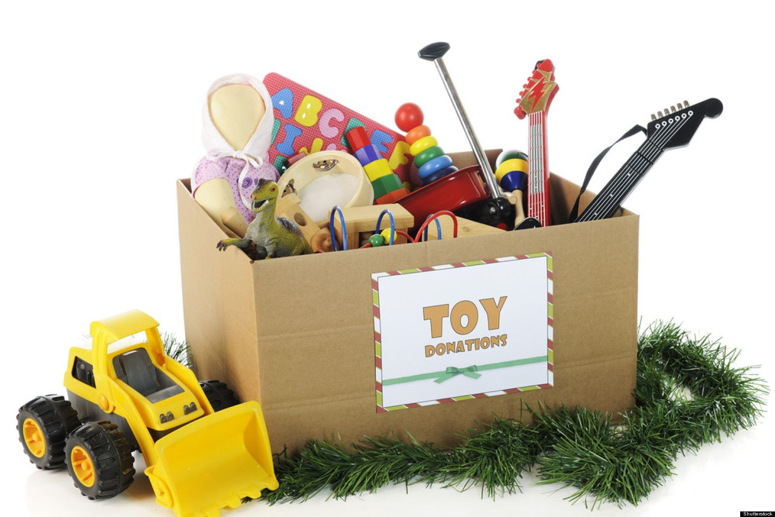 After Hostibg a Toy Swop Party, Take the Leftover Toys to a