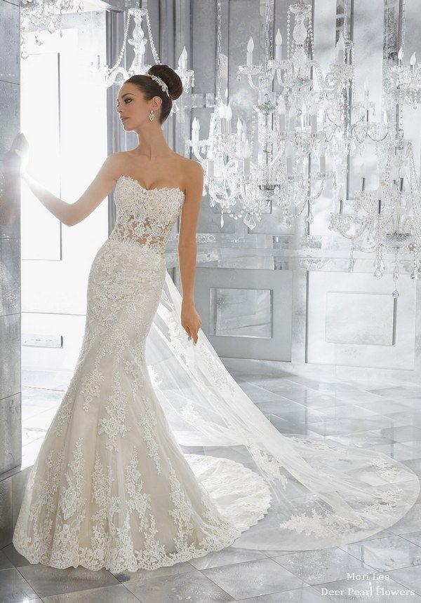 857325425 Blu Wedding Dresses 5572-1-2 from MoriLee | Wedding Dresses ...