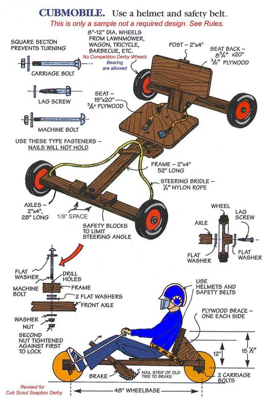 cubmobile plans.jpg 962×1,404 pixels Cub scout crafts