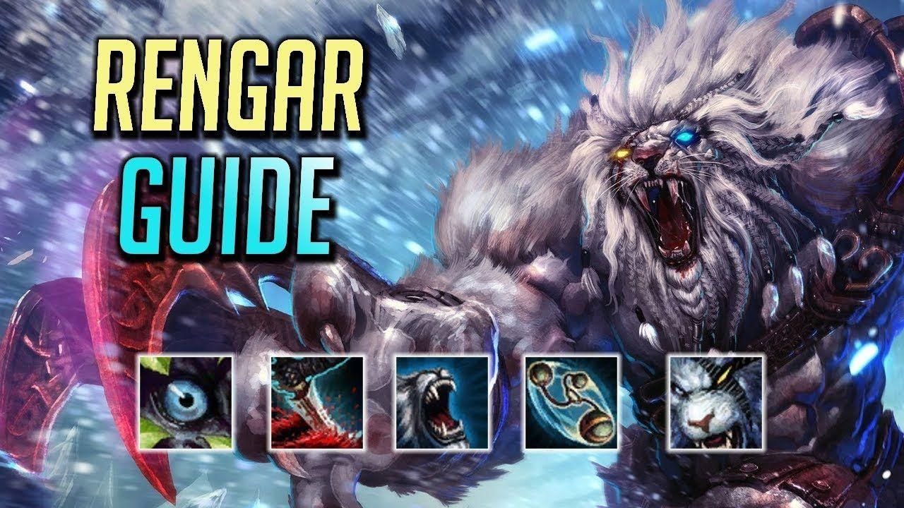 RENGAR GUIDE (Season 9) Jungle Runes, Combos & Matchups How To Play
