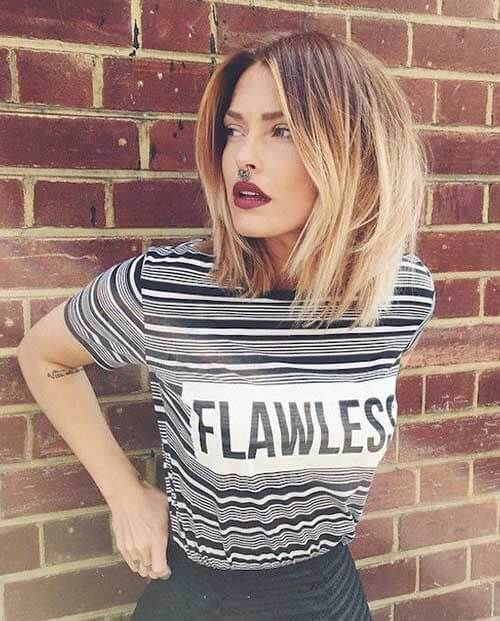 50 atemberaubende Bob Frisur Inspirationen, die Ihnen einen glamourösen Look geben wird #blondeombre