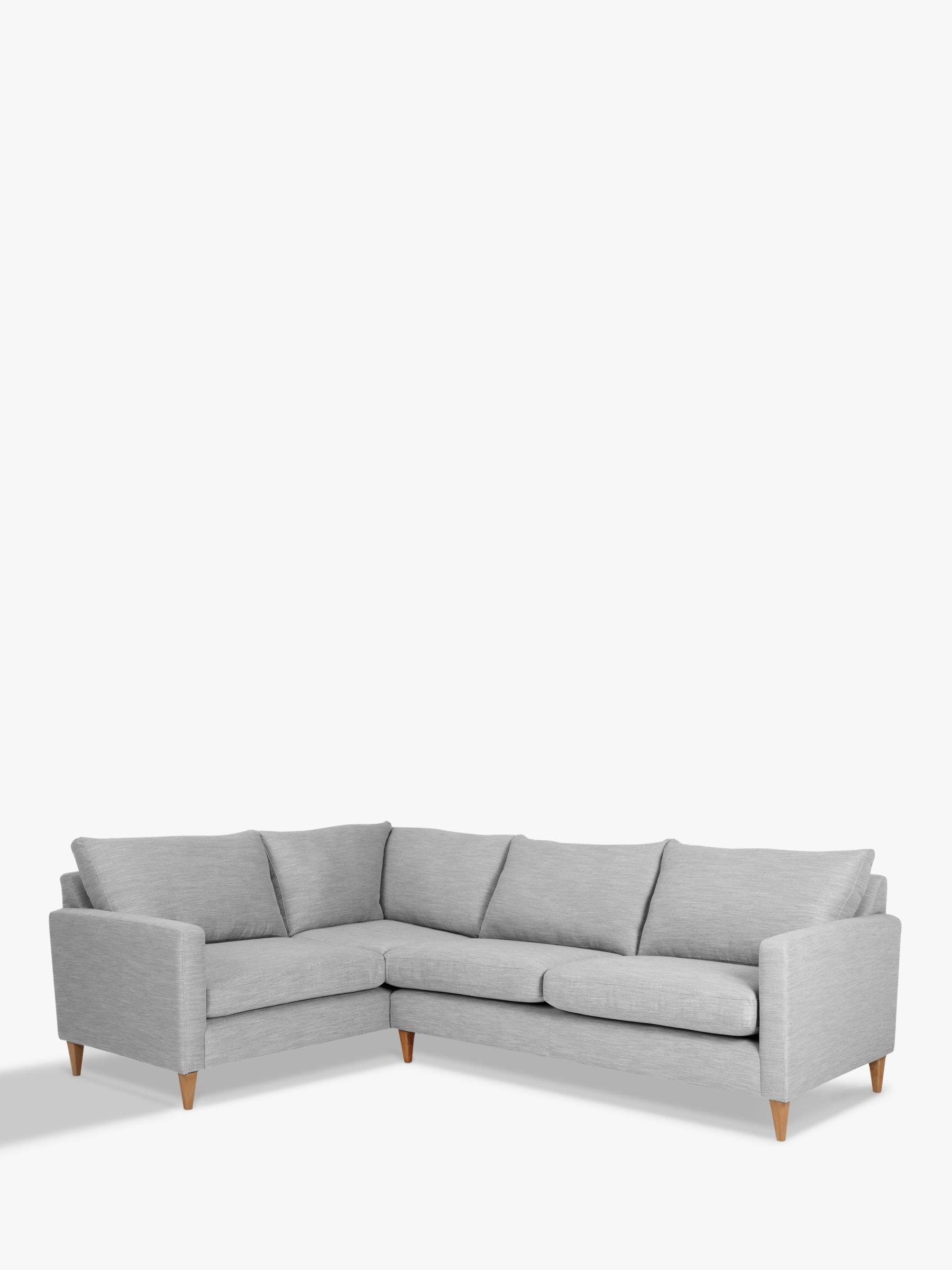 John Lewis Partners Bailey Fixed Cover Lhf Corner End Sofa Small Sitting Rooms Sofa Couch