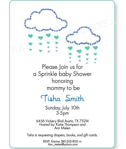 Superb Custom Sprinkle Baby Shower Invitation By HairballDesigns On Etsy, $20.00  To Buy Digital Design File