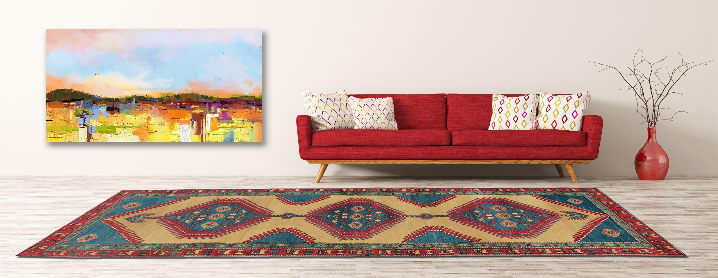 Antique Persian Sarab Runner Rug Rugs, Oriental rug