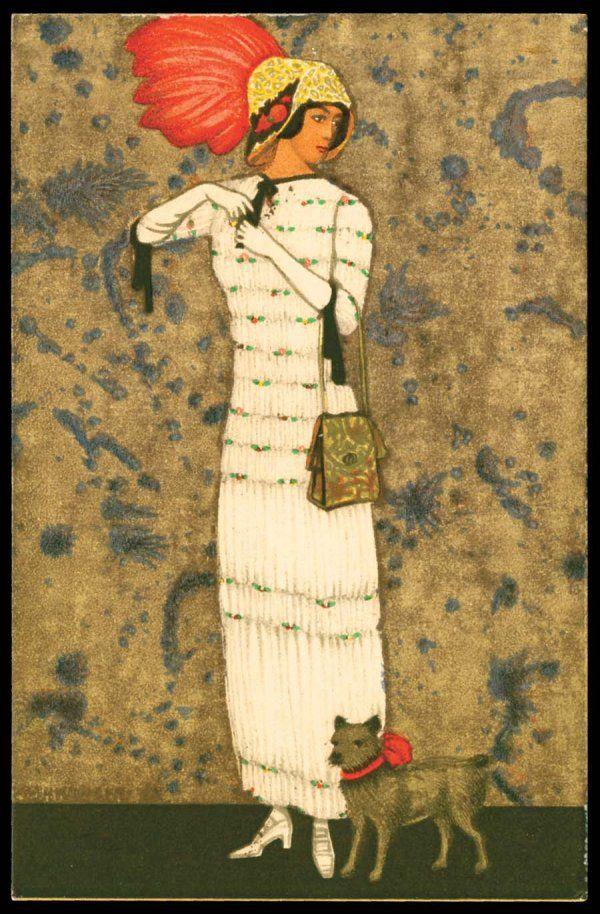 Wiener Werkstätte - Vienna Secession - Postcard #520