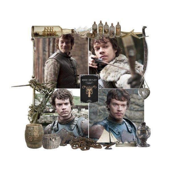 29. The Greyjoy Family - Theon Greyjoy by petus-stastna-sufliarska on Polyvore