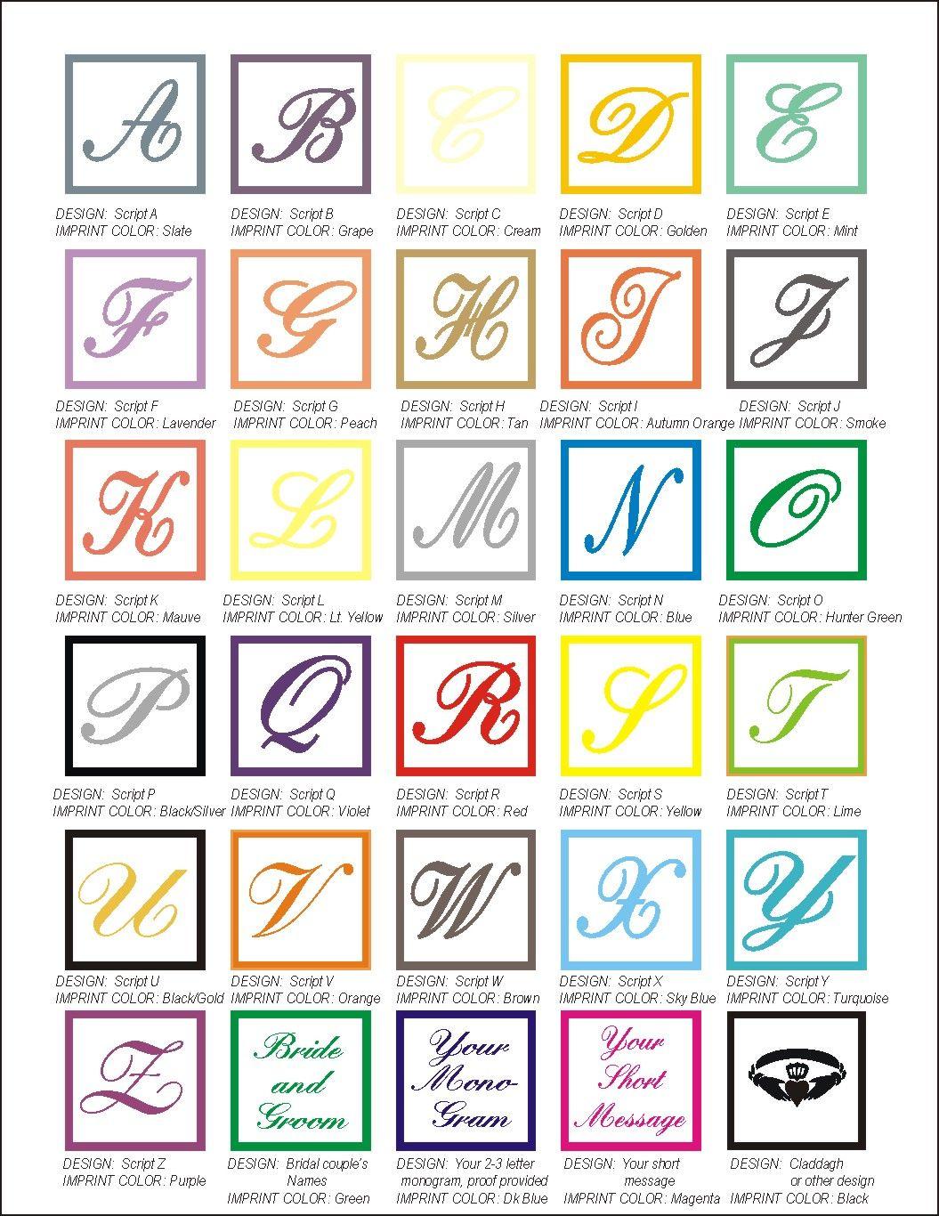 Free Printable Monogram Letters T Concierge Printable