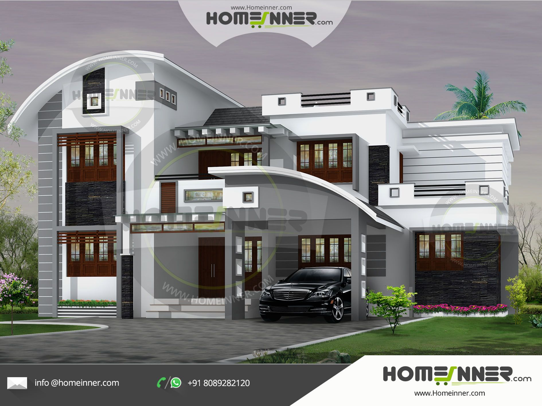 Superior This 2647 Sq Ft 5 Bedroom Modern Calicut Style House Plan ,looking For A  Kozhikodan Style Exterior Design And House Plan For Your Next Dream Then  This Plan ...