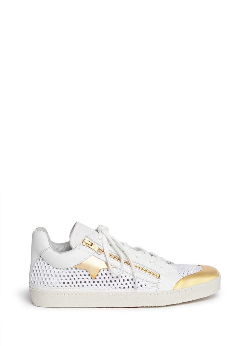 237364b692c ASH -  Shy  metal toe cap neoprene mesh sneakers