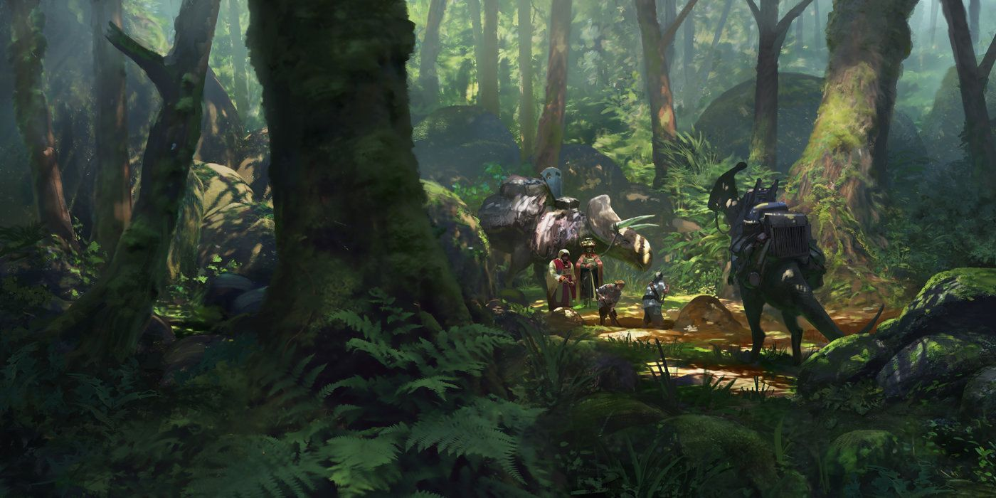 ArtStation - Haul - Forest Treasure, Lloyd Allan