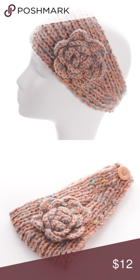 Handmade Flower Headwrap NWT   My Posh Picks   Pinterest