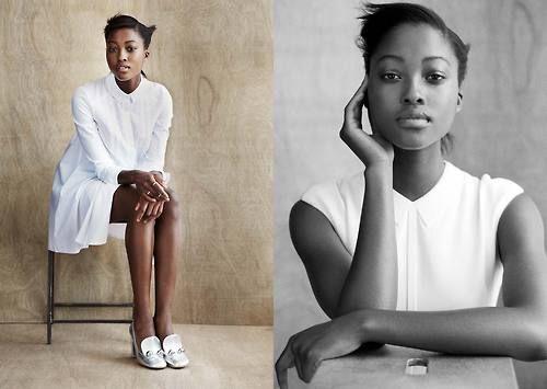 devoutfashion:  Playing Fashion - Model Profile: Nyasha...