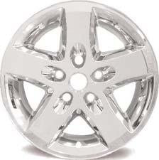 80a85978506 Jeep Wrangler Chrome Wheel Skins   Hubcaps   Wheel Covers 17