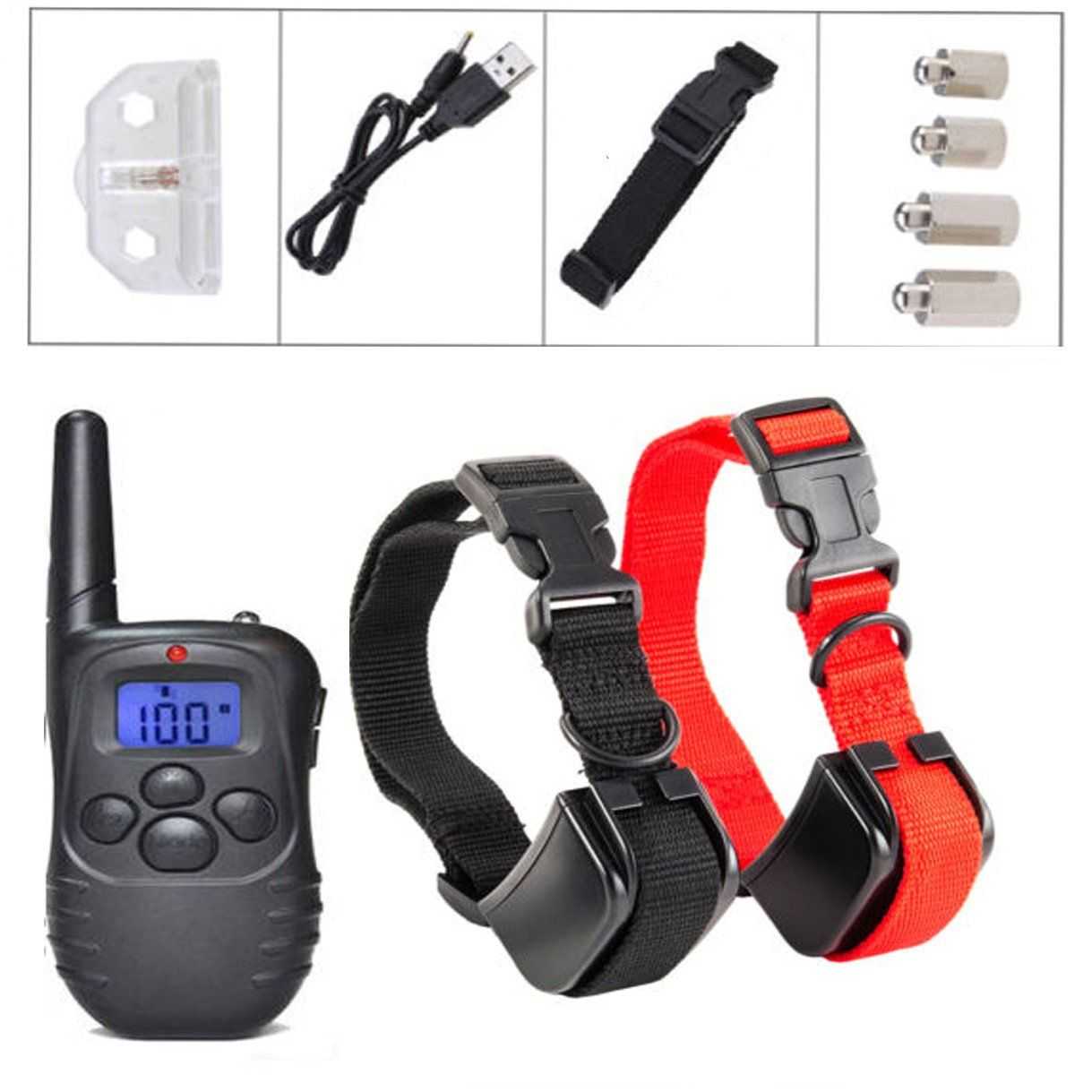 iMeshbean Dog Training Collar With Remote Rechargeable and