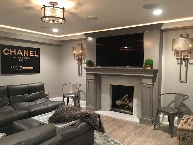 Basement lighting Beautiful Homes of Instagram SumhouseSumwear