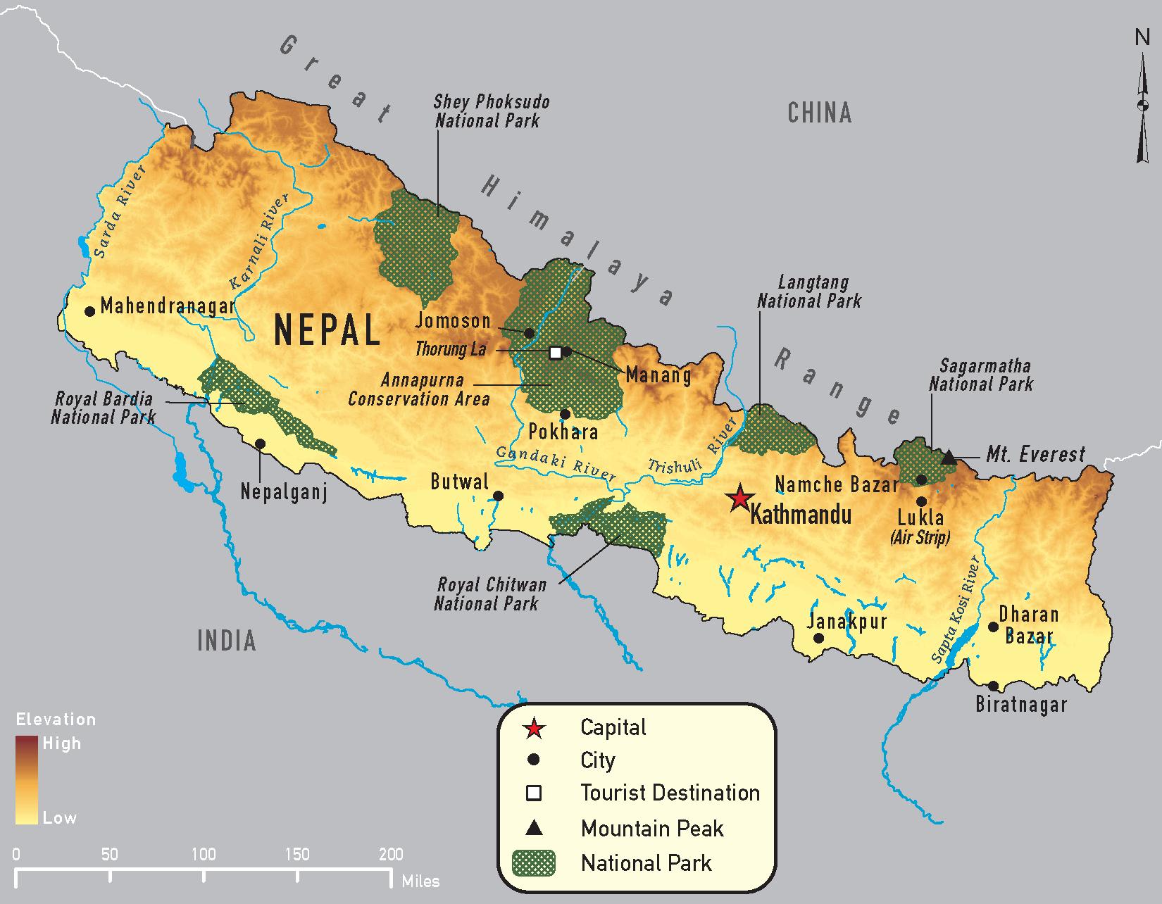 Nepal Chapter 4 2014 Yellow Book Travelers' Health