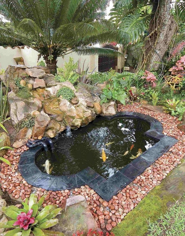 55 Unusual Backyard Pond and Water Feature Landscaping Ideas ...