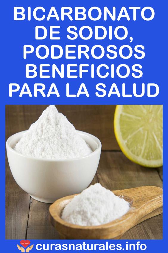 El bicarbonato de sodio causa presión arterial alta