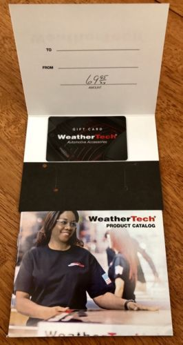 Coupons #GiftCards $69.95 weathertech gift card weather tech ...