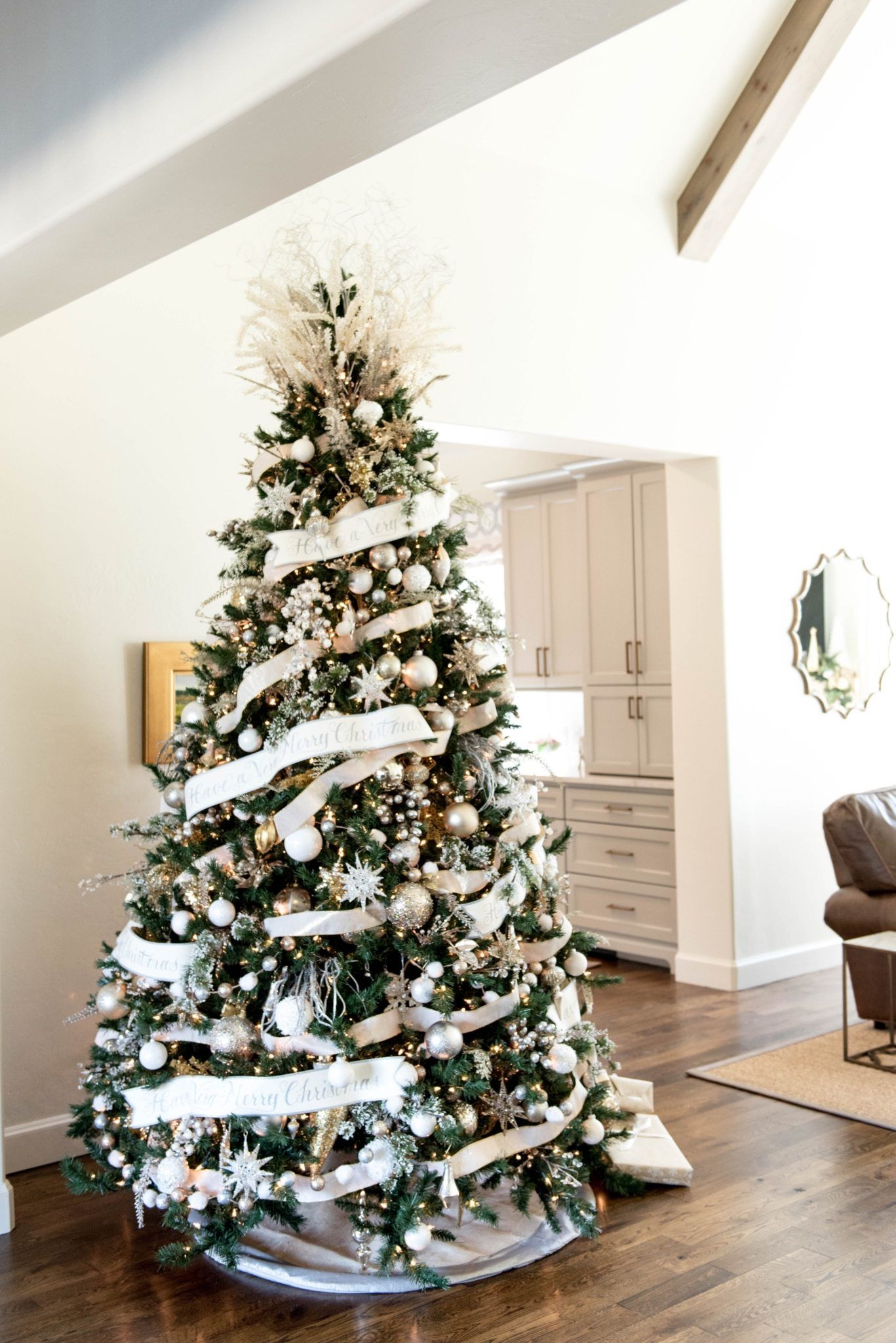 Glam Christmas Decor | Karácsony | Pinterest | Christmas tree ideas ...