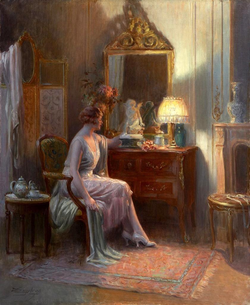 Elegant Romantic Paintings: Pin On Delphine Enjolras