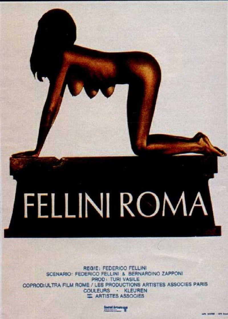 Roma De Fellini Roma 1972 Posters Fellini Films