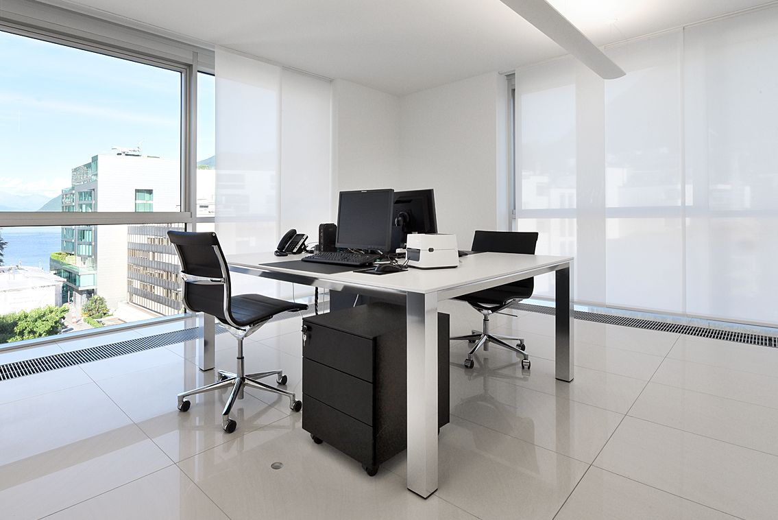 Mobili ufficio moderni mobili rebecca scrittoio con for Dau srl design arredo ufficio