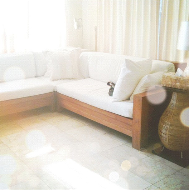 Jakarta Finds Where To Get Slip Covers Sewn White Cushion Covers Diy Couch Cover L Shaped Couch