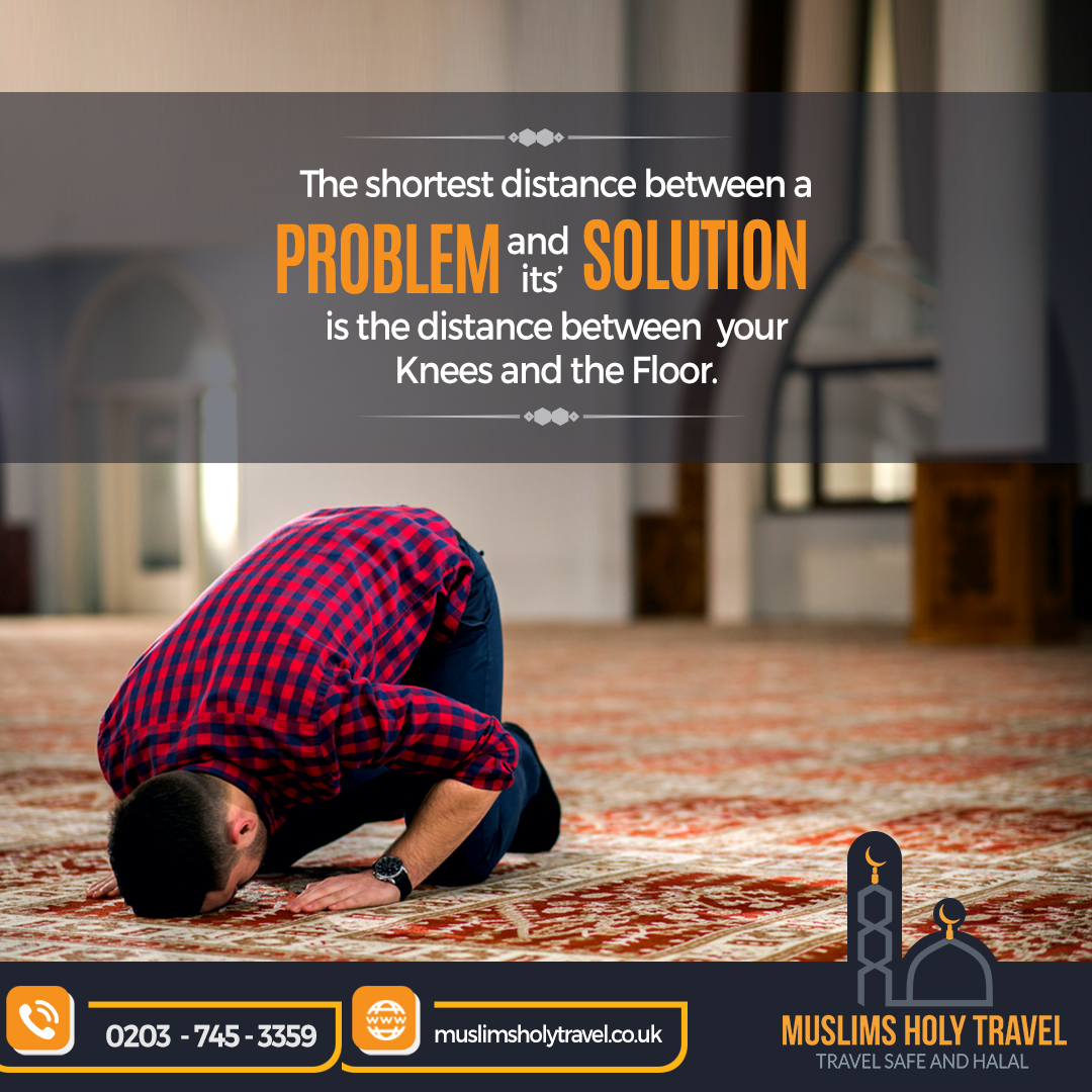 Bend Down On Your Knees In Front Of The Creator Of The World Allah Swt And He Will Show You The Light You Re Seeking Within One Sajdah To Allah Almighty Ca