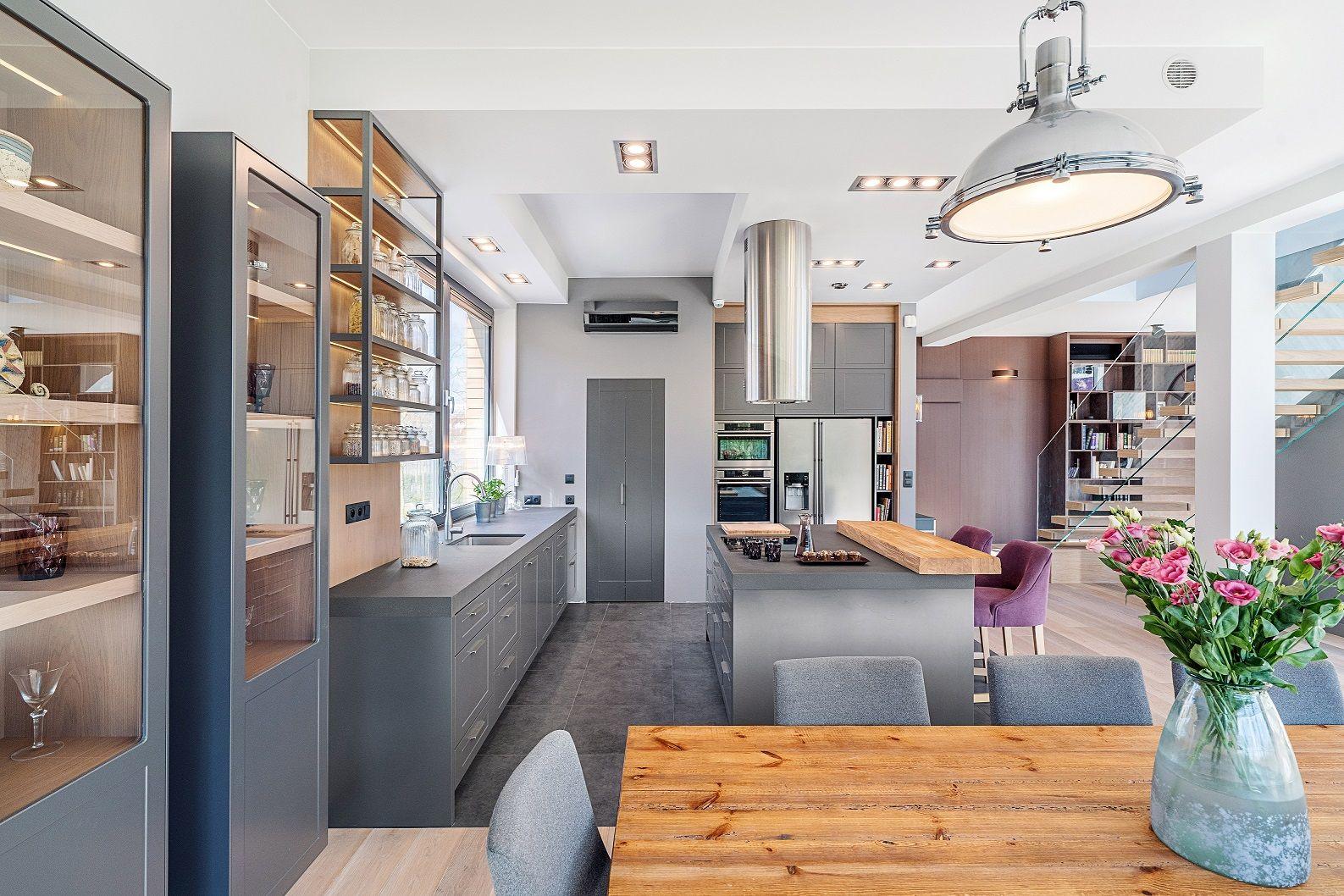 Wnetrze Dla Wielbicieli Modernistycznego Wykonczenia Zachwytow Nie Ma Konca Kuchnia Inspiracje Aranzacja Wykonczenie Design K Furniture Home Decor Home