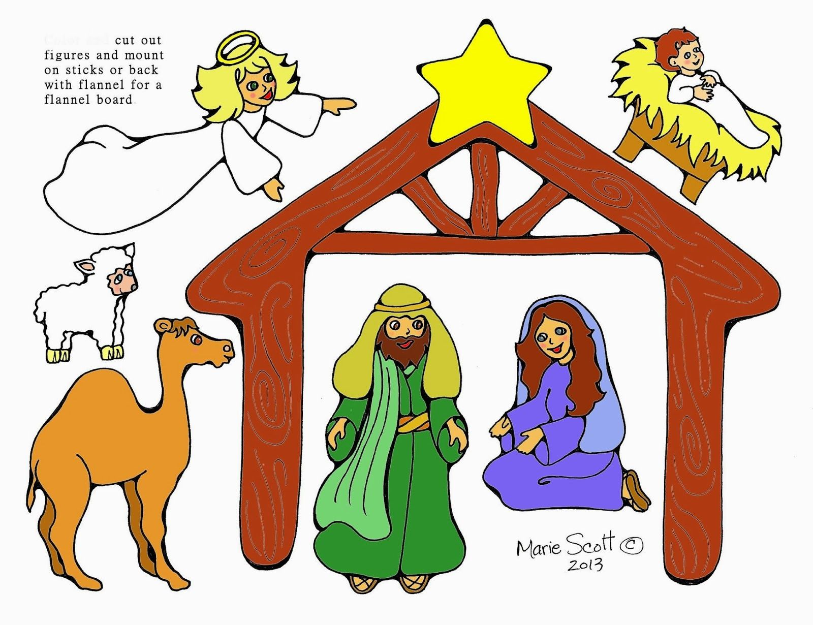 Serendipity Hollow Nativity Figures
