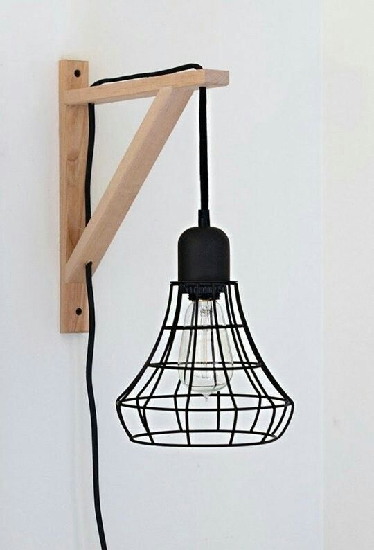 Make it diy cage light sconce ikea hack great idea for the basement dont love the cage but could definitely do an edison light