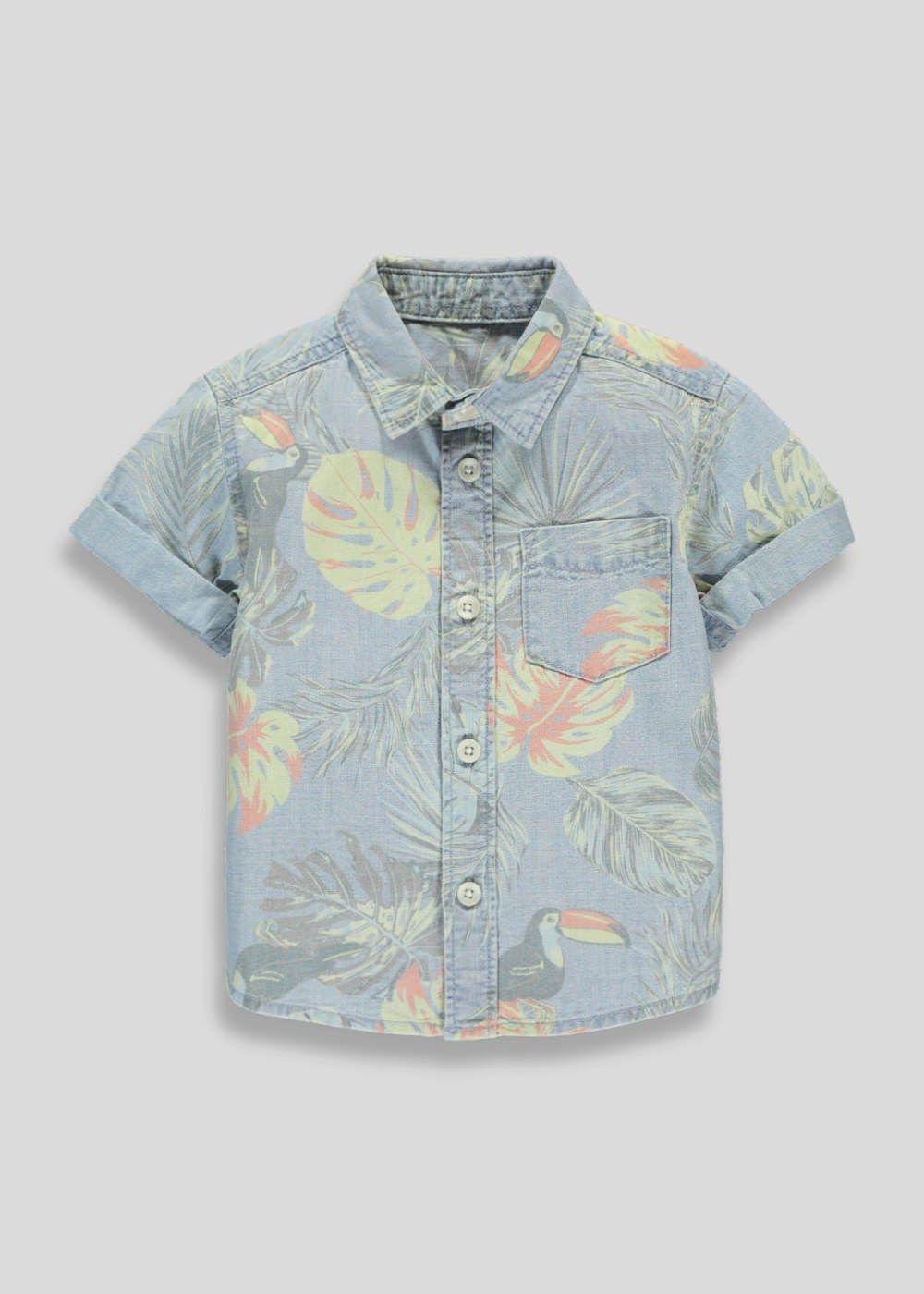 Boys Tropical Print Shirt (3mths-5yrs) – Matalan | Kid clothing ...